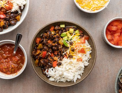 Low Calorie Black Beans and Rice Recipe