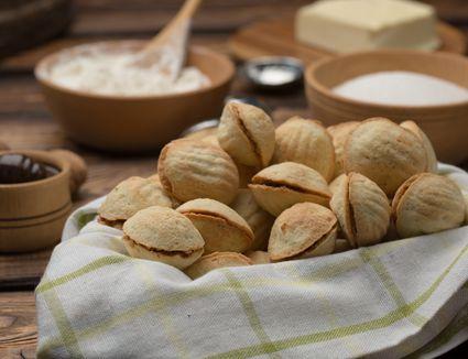 Polish Christmas Cookies.Polish Cream Cheese Cookies Kolaczki Recipe