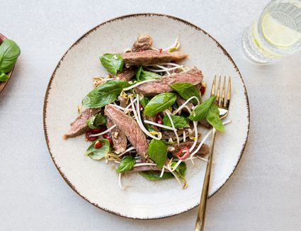 Cambodian Beef Salad in Spicy Lime Dressing