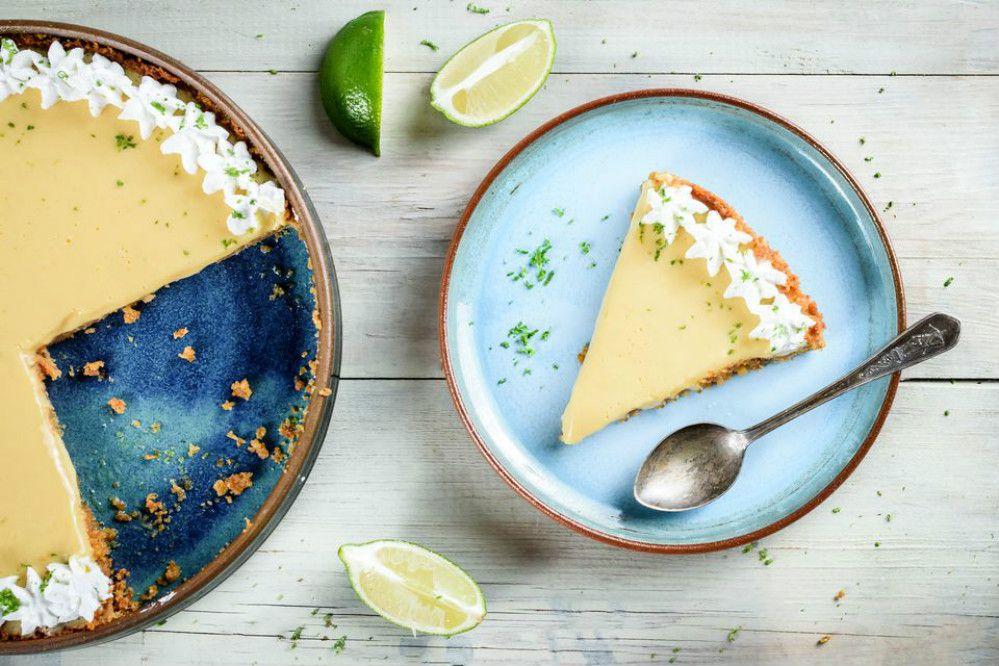 No-Bake 4-Ingredient Key Lime Pie
