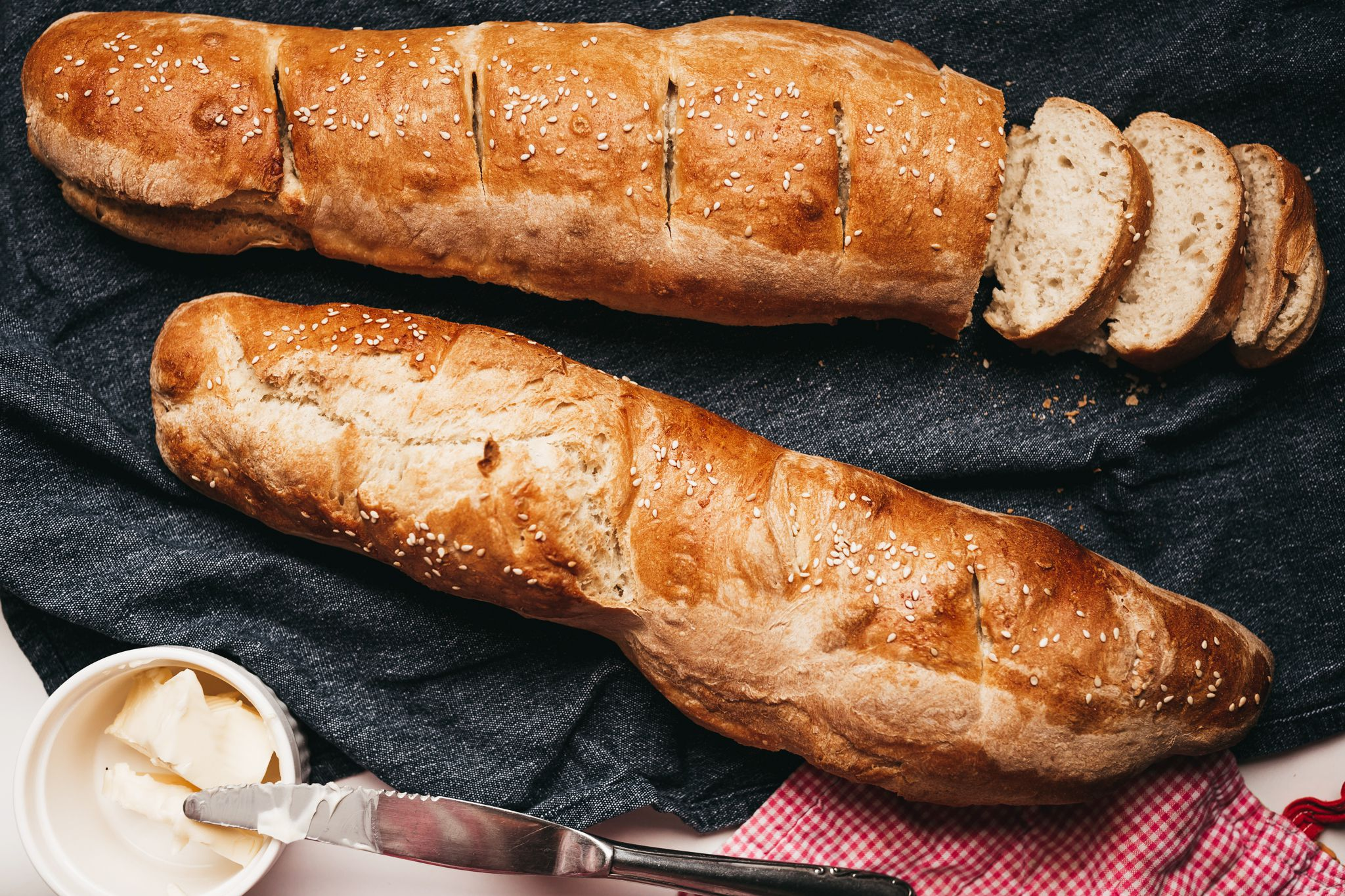 Easy, Classic, and Crusty French Bread Recipe
