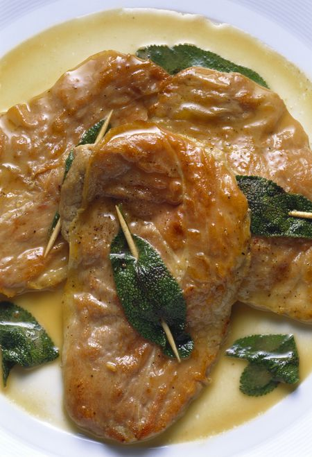 Veal Cutlets With Prosciutto and Sage Recipe