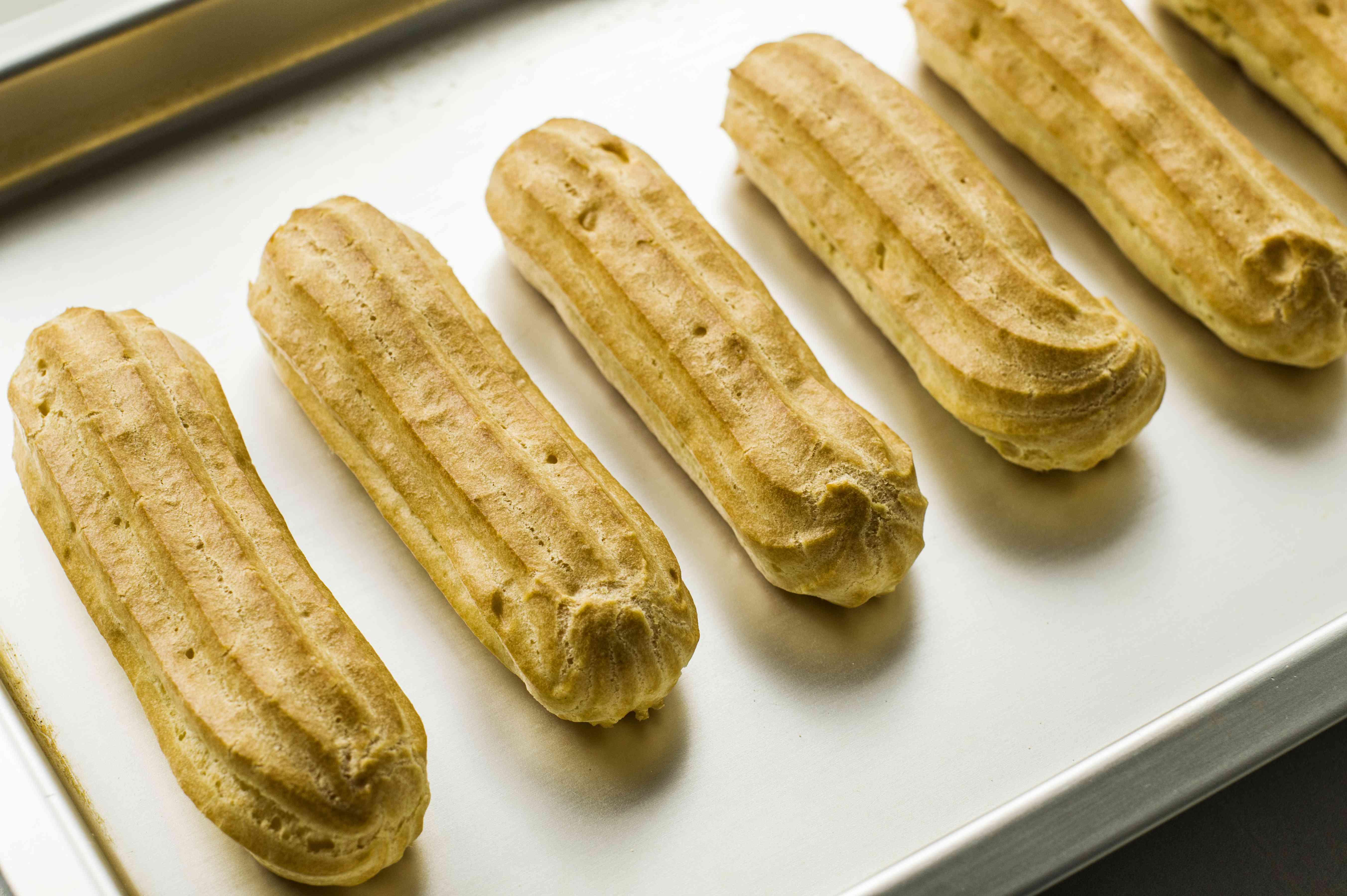 Bake pastry dough