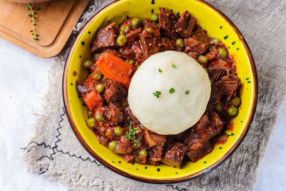 Yam fufu recipe