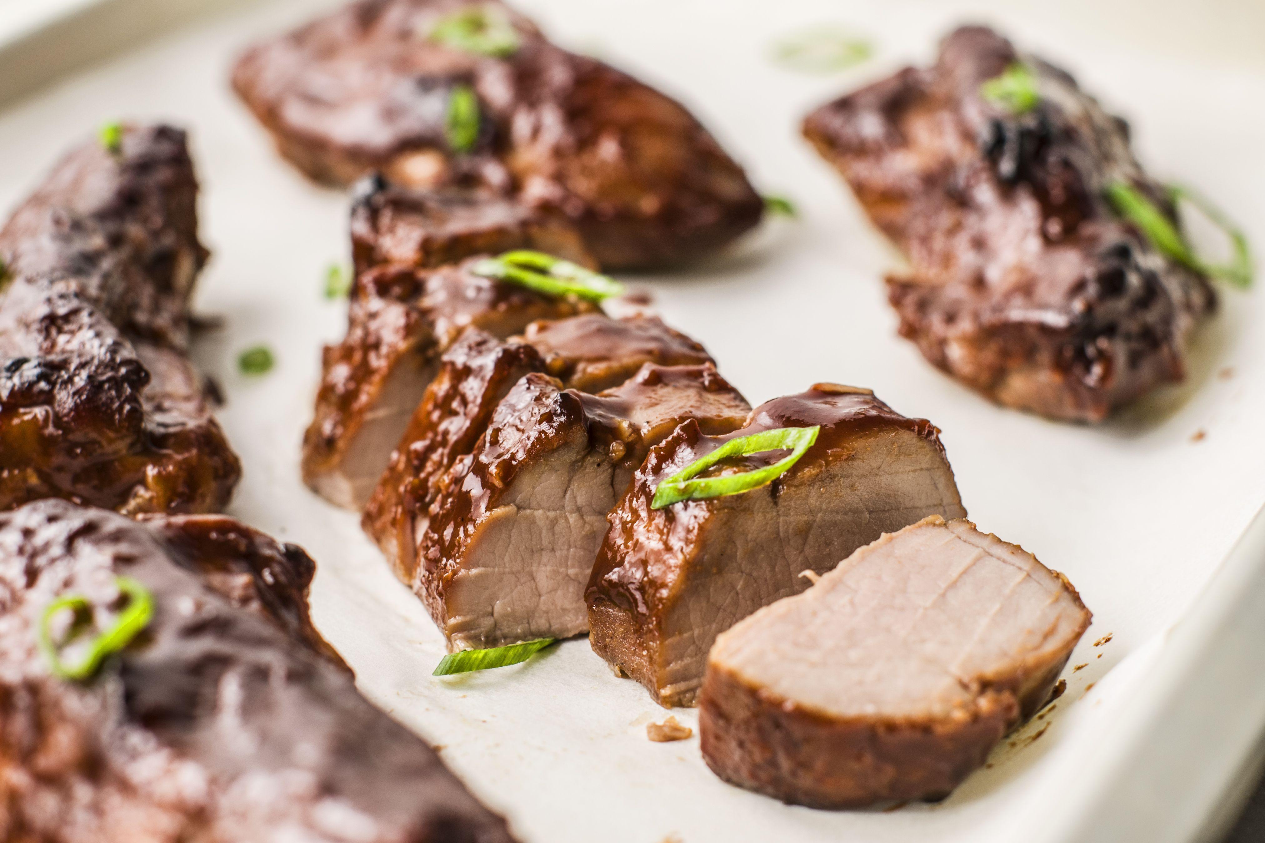 Cut pork