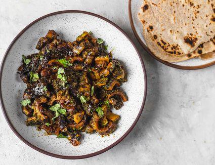 Khatta Meetha Karela: Sweet and Sour Bitter Gourd