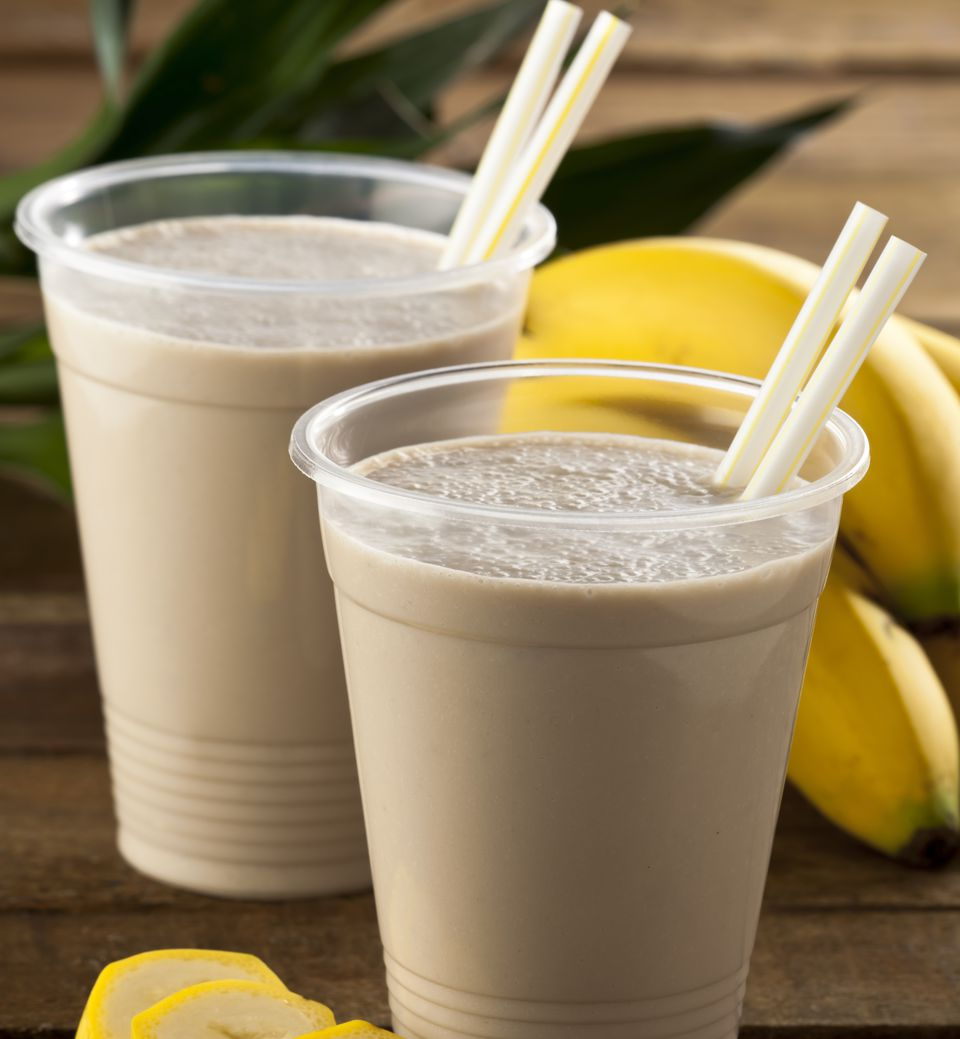 peanut butter banana smoothies