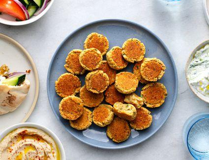 Low-Fat Baked Falafel Recipe