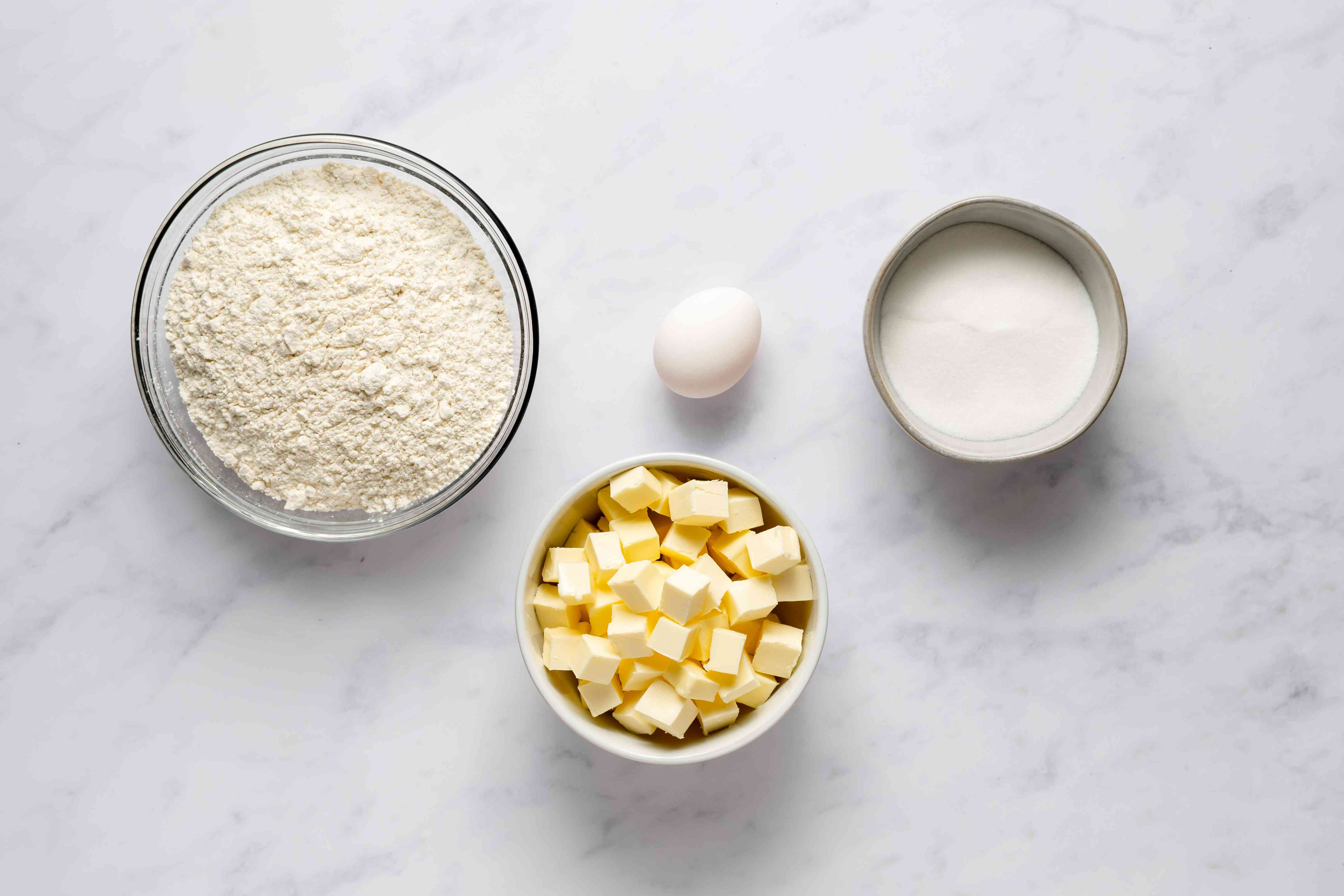 shortcrust dough ingredients