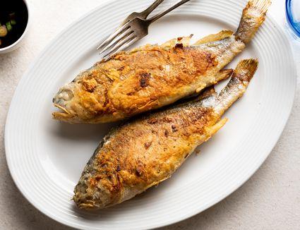 Korean Pan-Fried Whole Fish