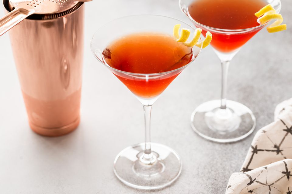 Apricot Pie Cocktail (aka Naked Lady Cocktail)