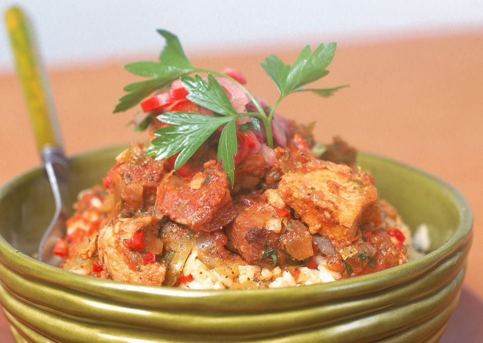 Jambalaya With Rice