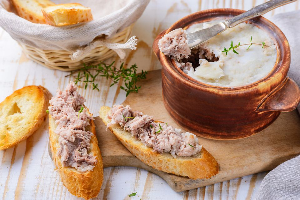 Classic French pork rillettes recipe