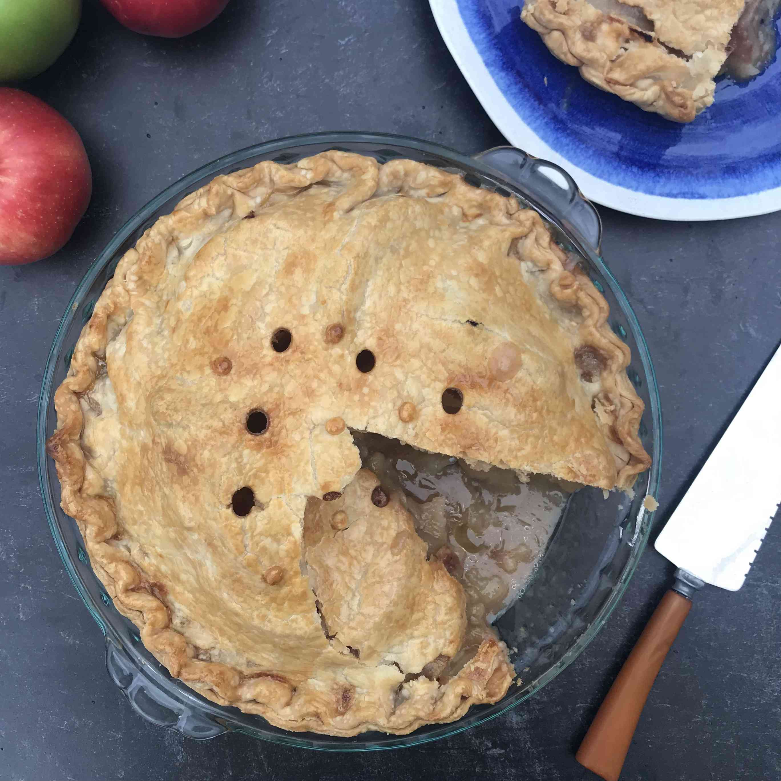 Old-Fashioned Apple Pie Recipe Test