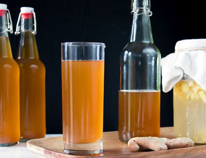 Homemade Soda With a Ginger Bug
