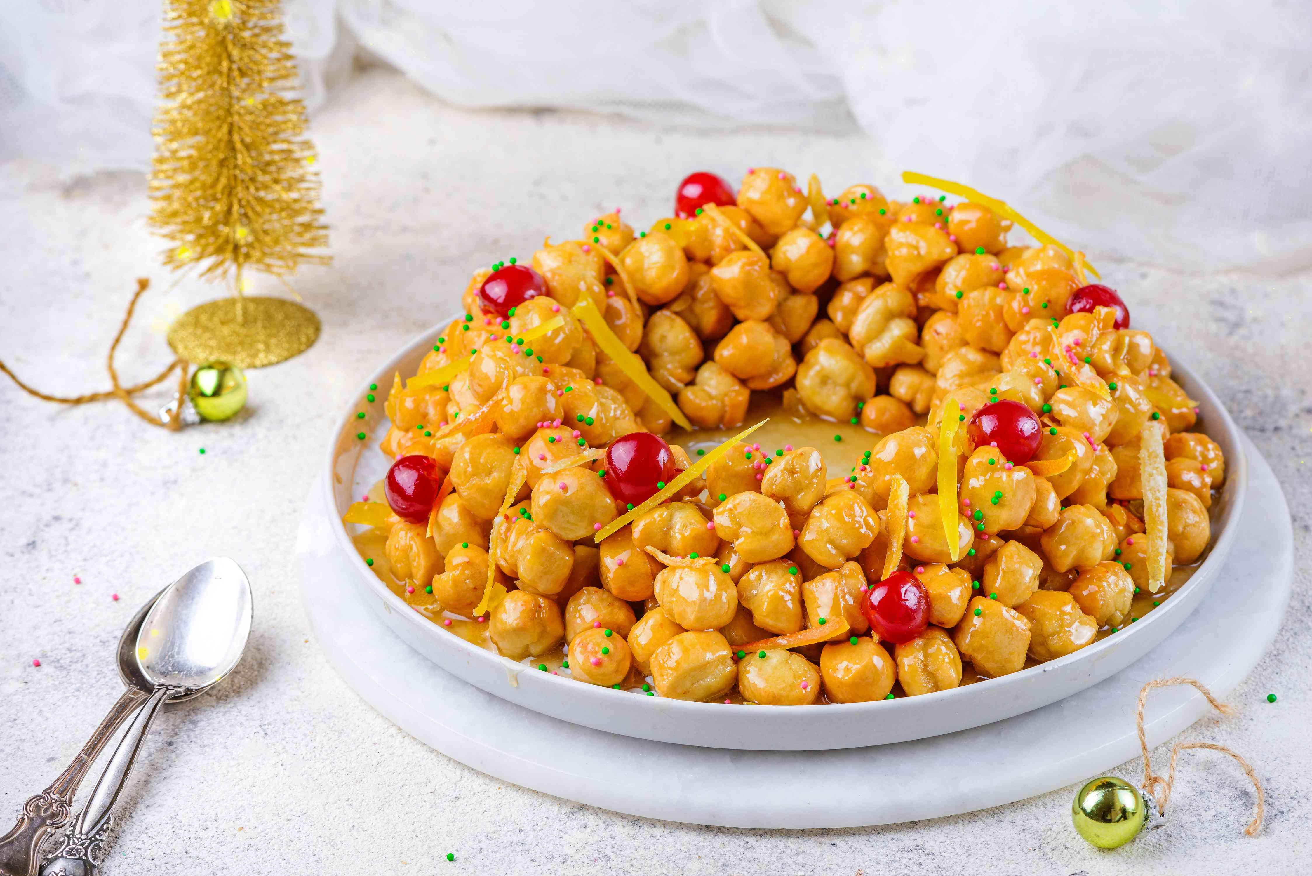 Struffoli Neapolitan Christmas Treats recipe