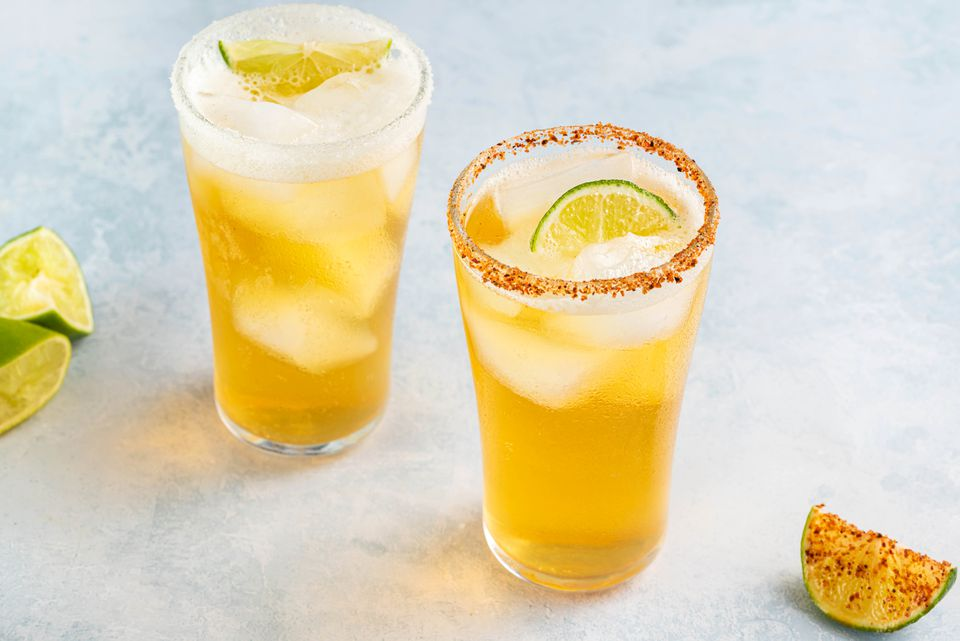 Easy Chelada With Mexican Beer