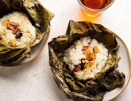 Lotus Leaf Wraps (Lo Mai Gai)
