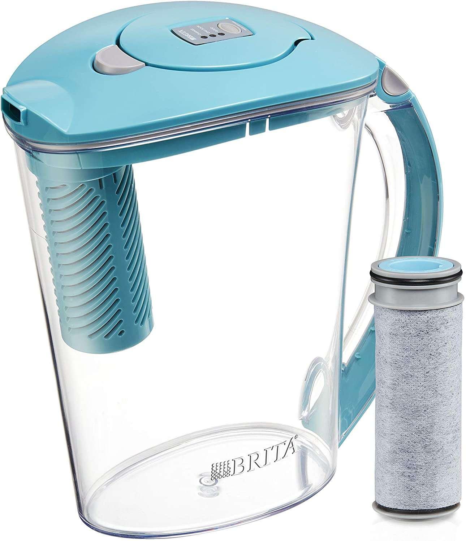 Brita Stream Water Pitcher with 1 Filter