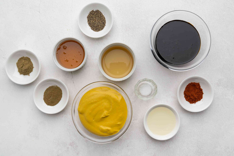 Sweet Mustard Barbecue Sauce ingredients