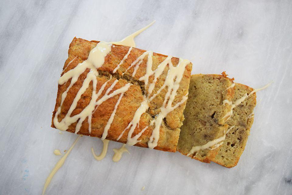 Bourbon banana bread