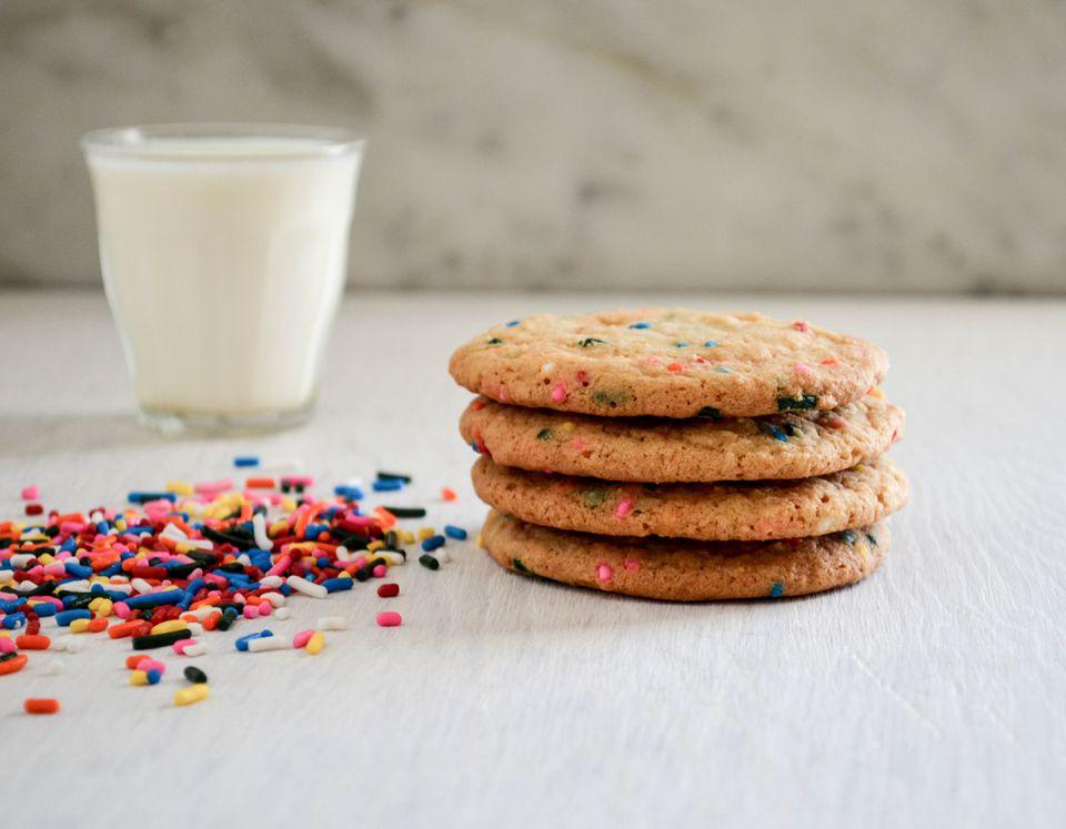 Cookies de Funfetti