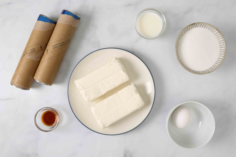 Easy Cheese Danish ingredients