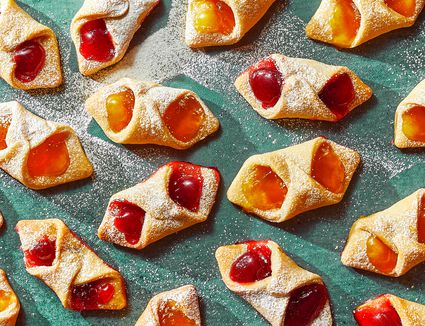 Jam-Filled Kolache Cookies With Cream Cheese Pastry