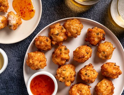 Chinese Shrimp Balls Appetizer