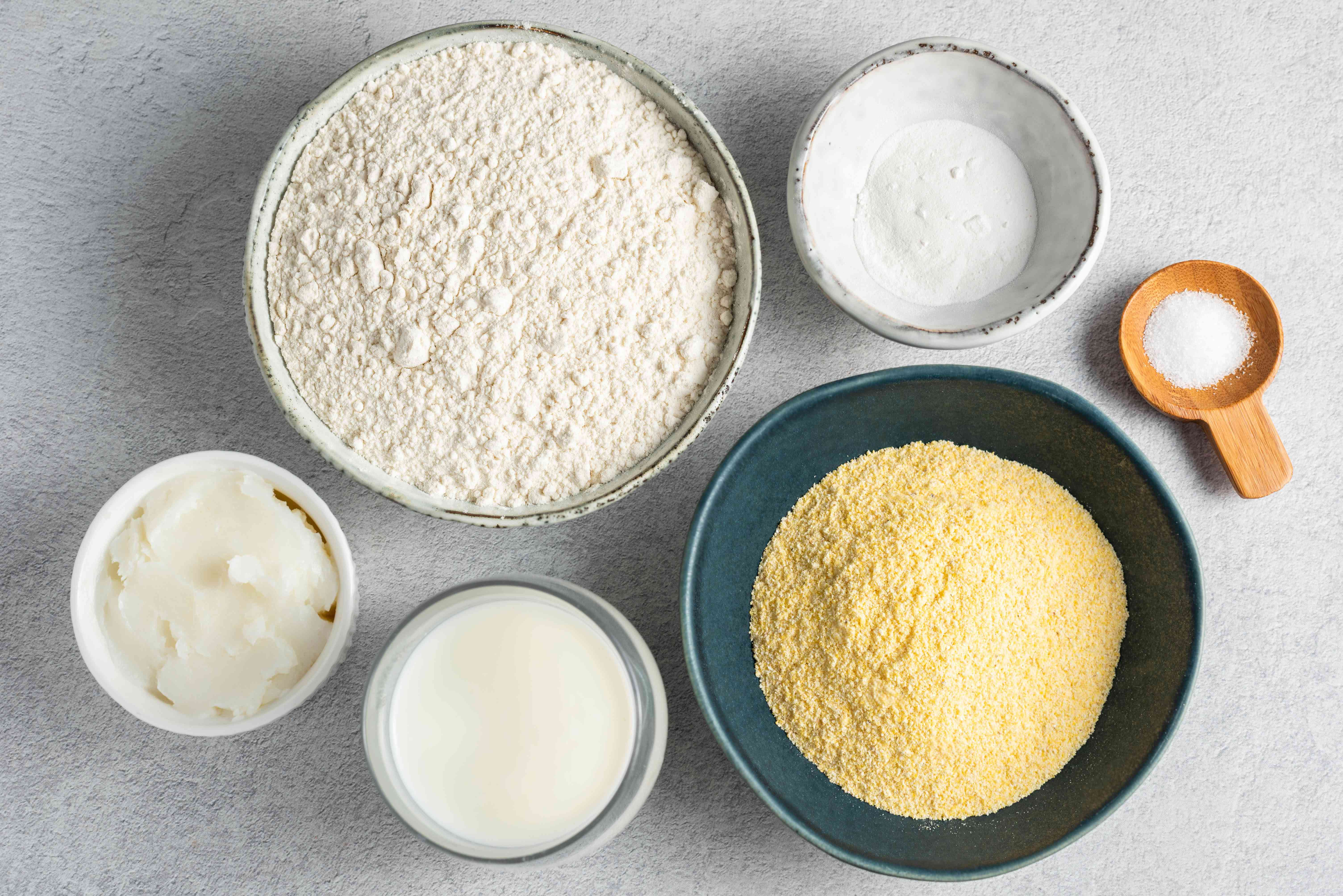 Easy cornmeal biscuits