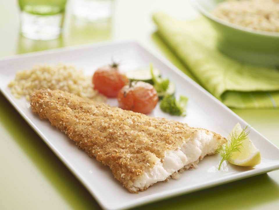 Simple Oven Fried Tilapia