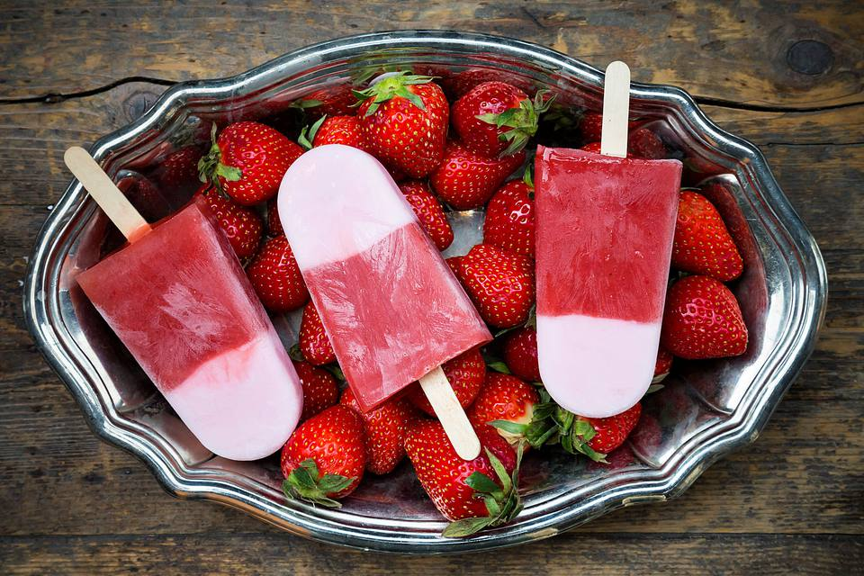 Strawberry Paletas