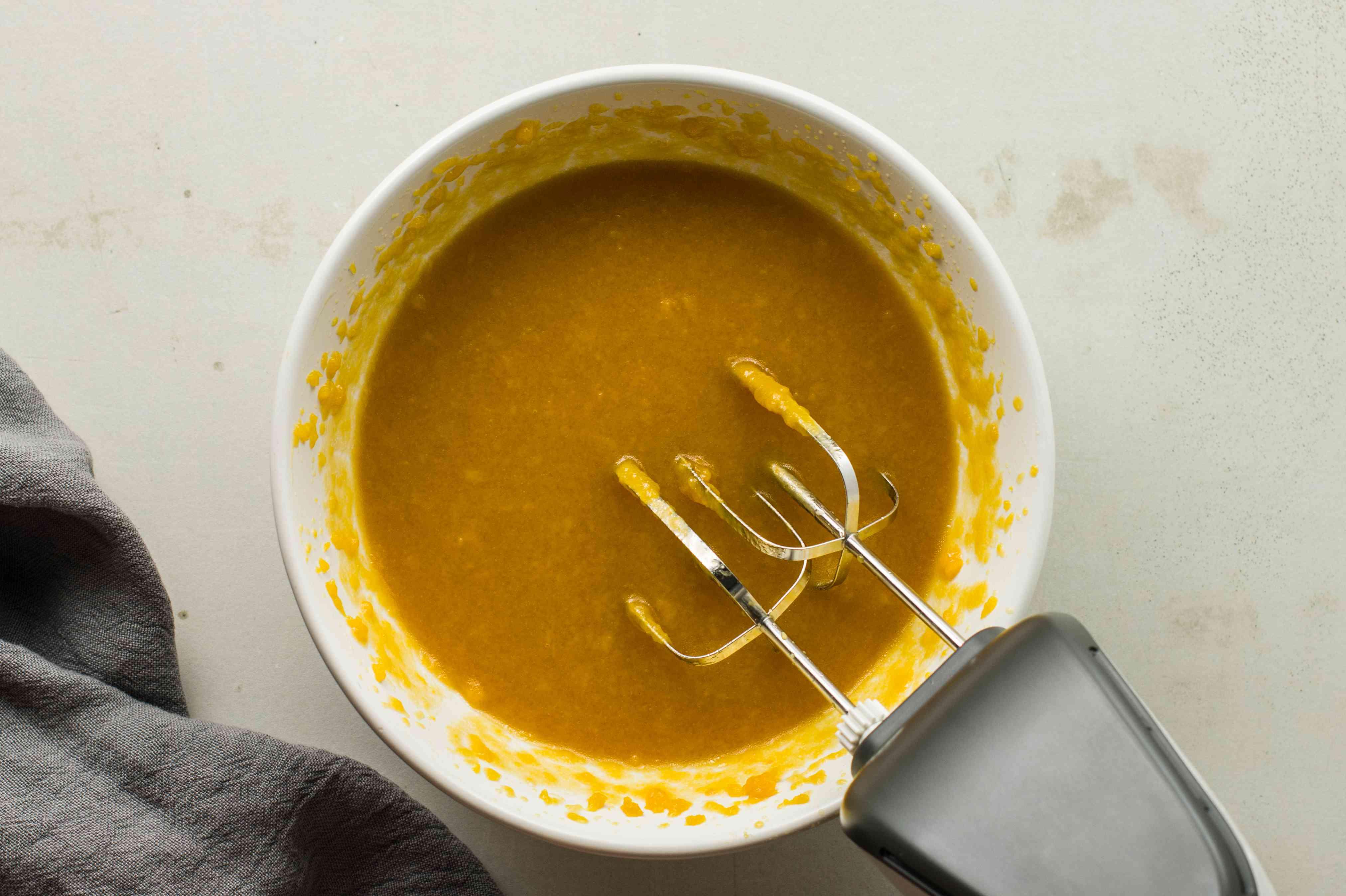 Add pumpkin puree