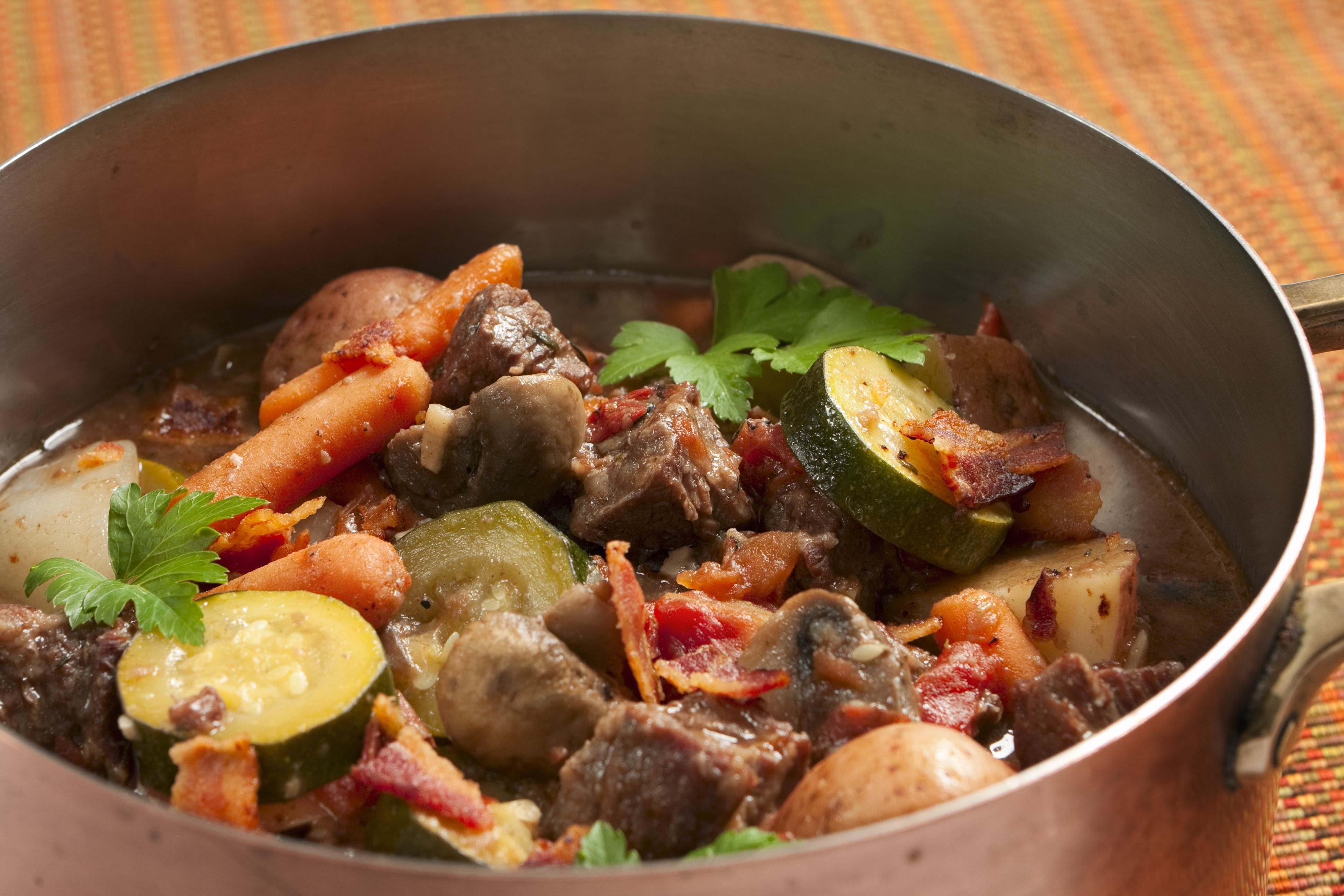 Sausage, Potato, and Zucchini Stew Recipe