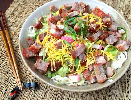 Japanese somen salad
