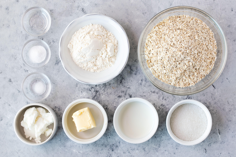 Date-Filled Oatmeal Cookies Recipe ingredients