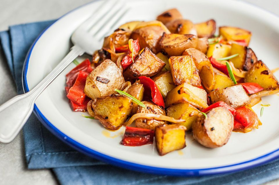 Easy Skillet Fried Potatoes