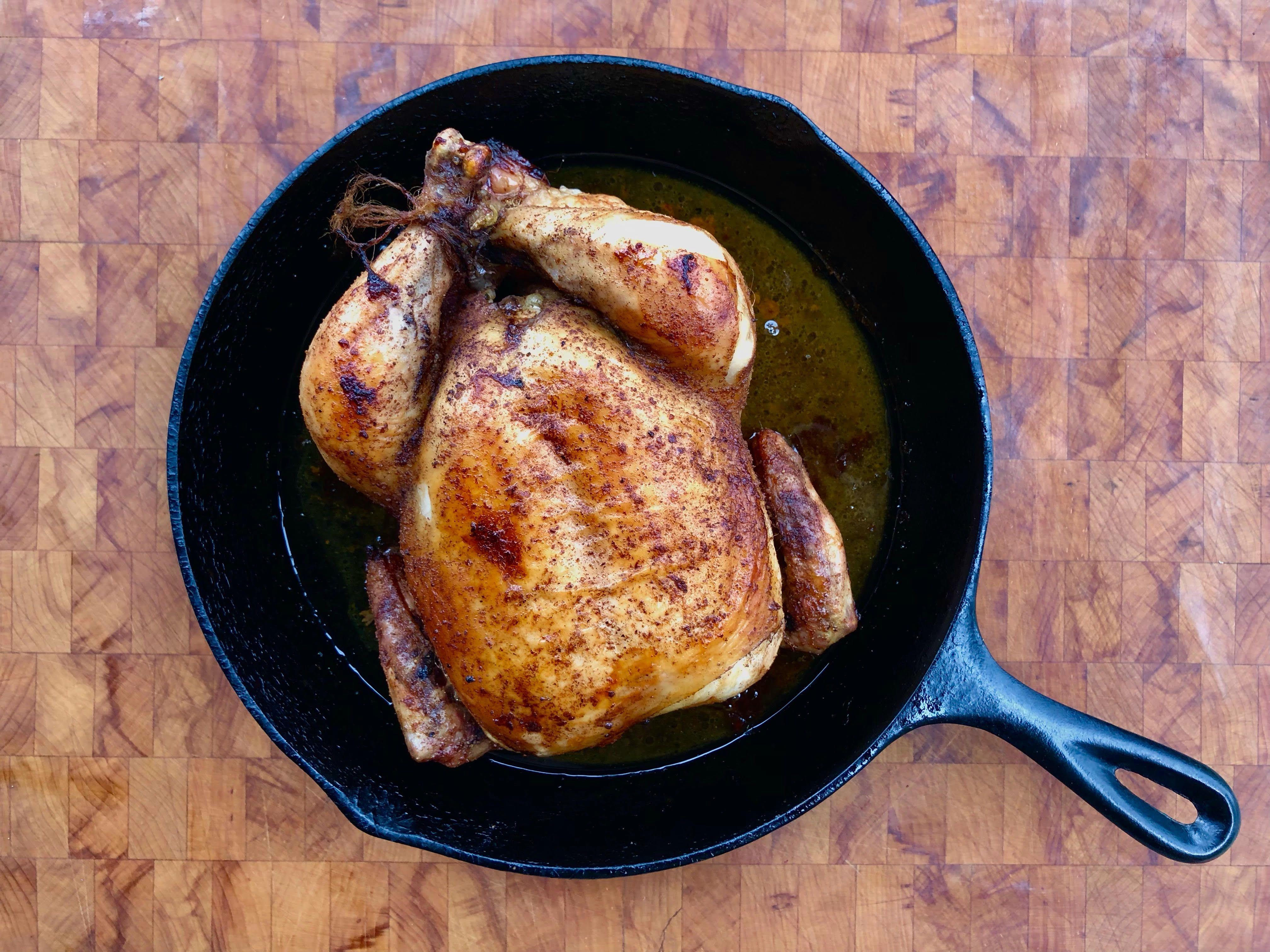 Roast Chicken for Beginners
