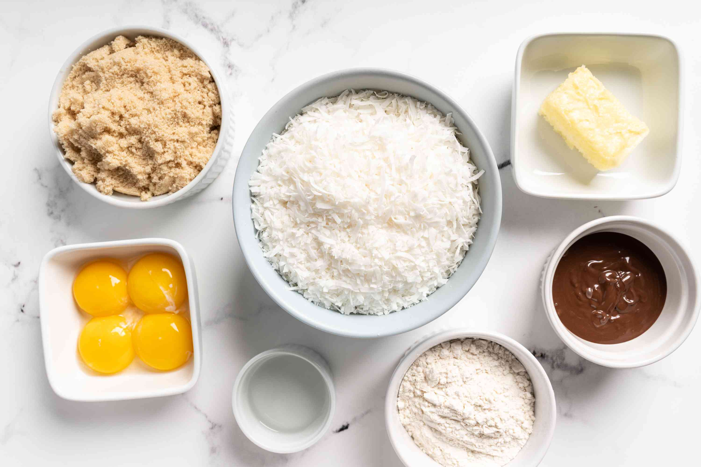 Puerto Rican Coconut Kisses ingredients