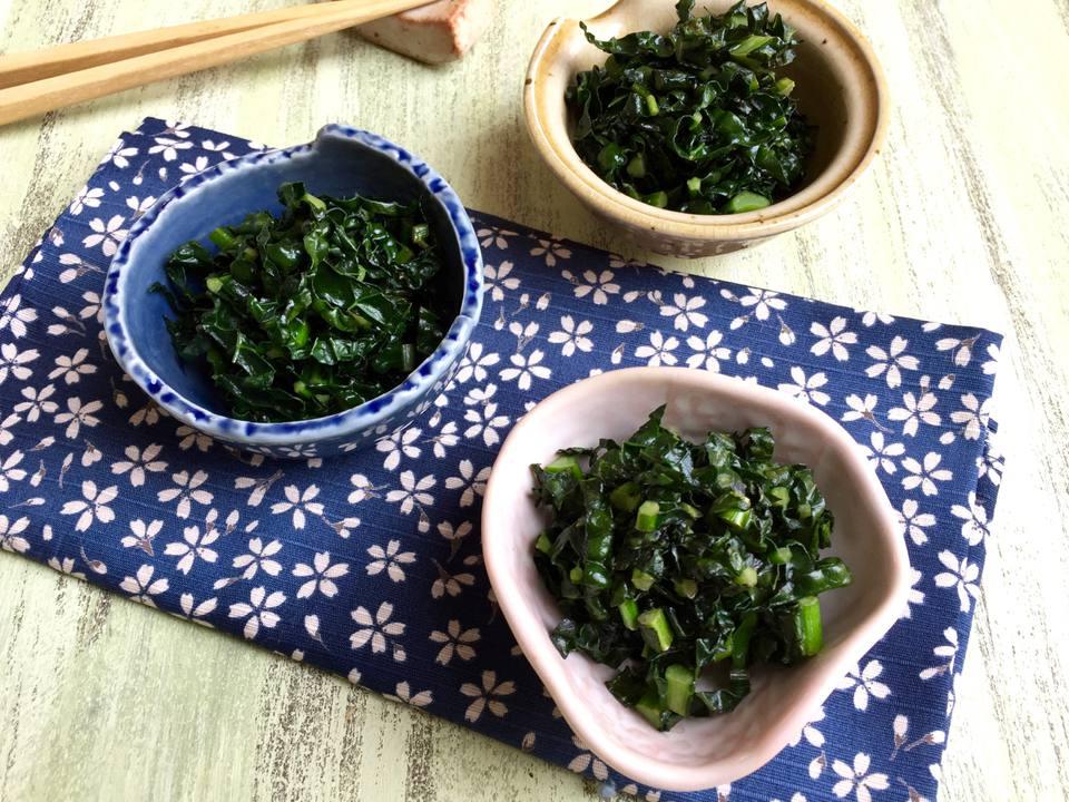 Japanese Kale Kobachi (Side Dish)