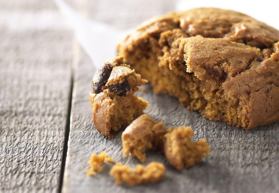 Pumpkin Cookies with Nuts