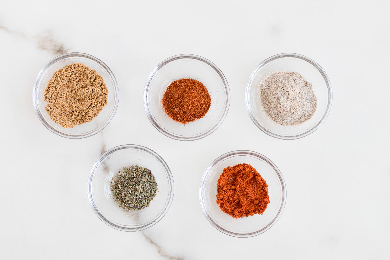 Ingredients for chili powder