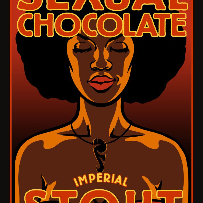 Sexual Chocolate Imperial Stout label