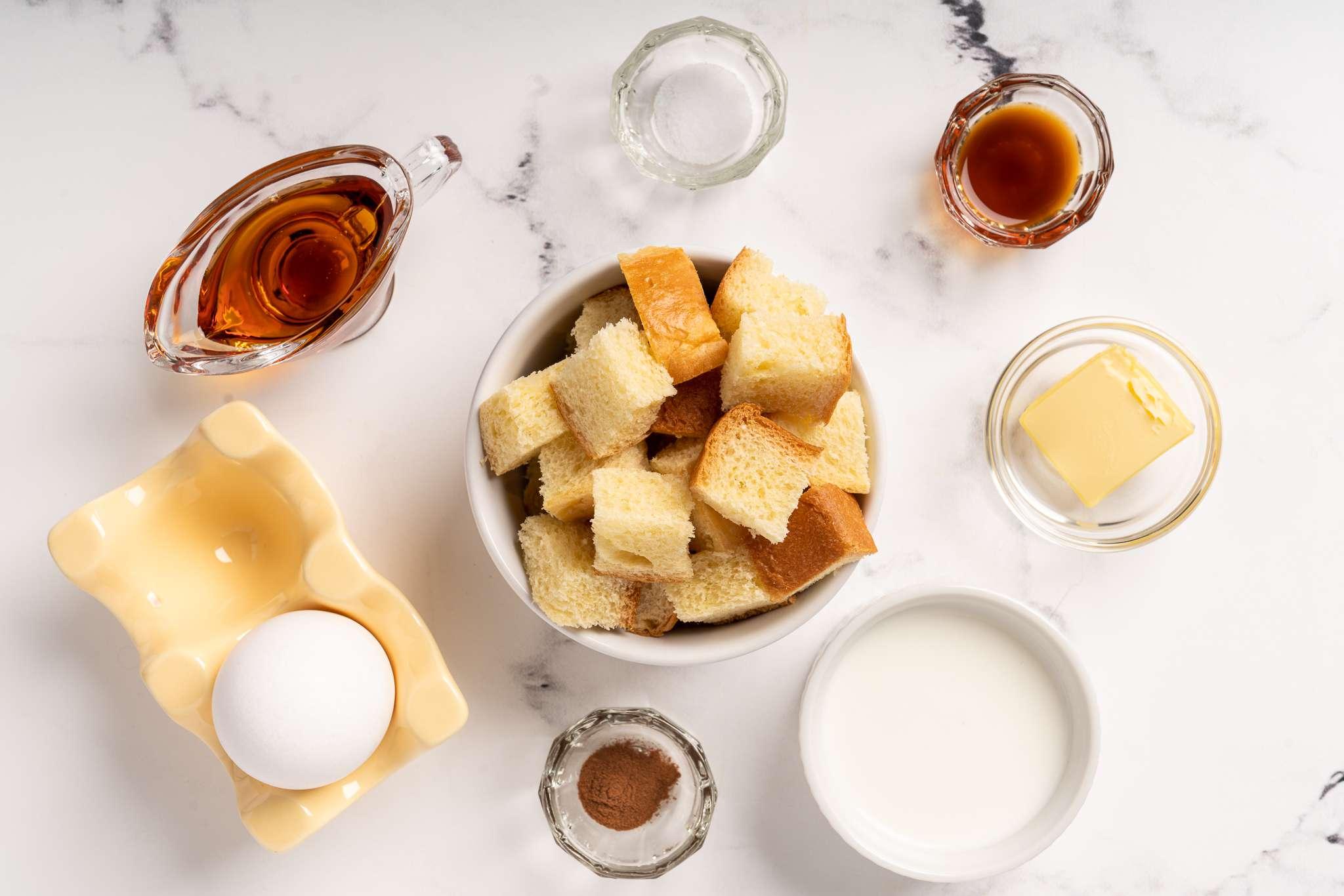 Mug French Toast ingredients
