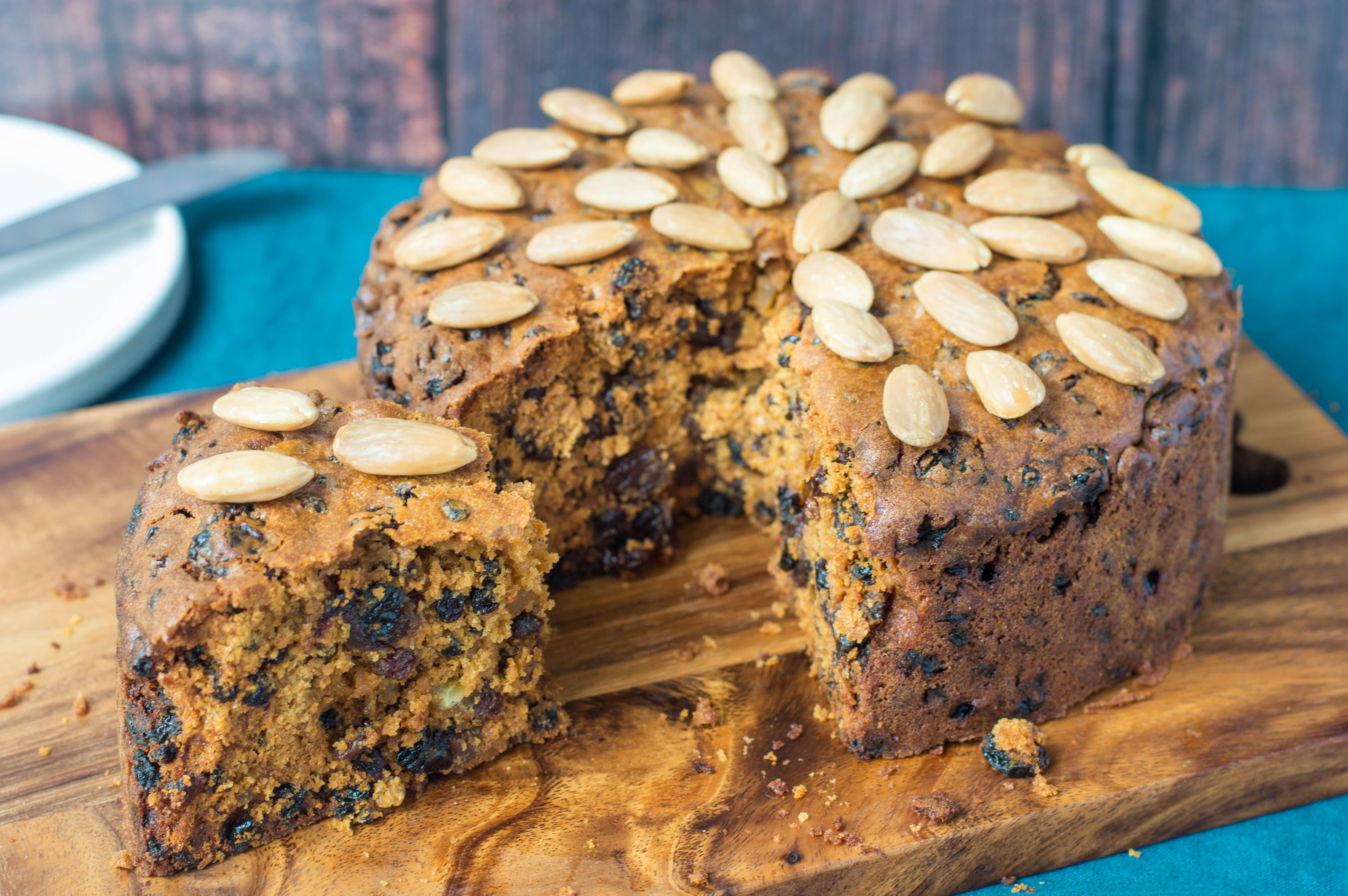 Scottish Dundee Cake Recipe