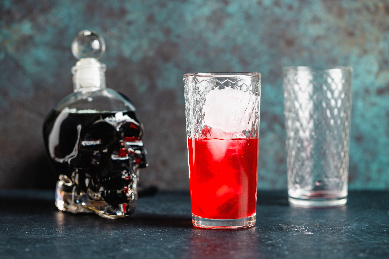 Add cranberry juice