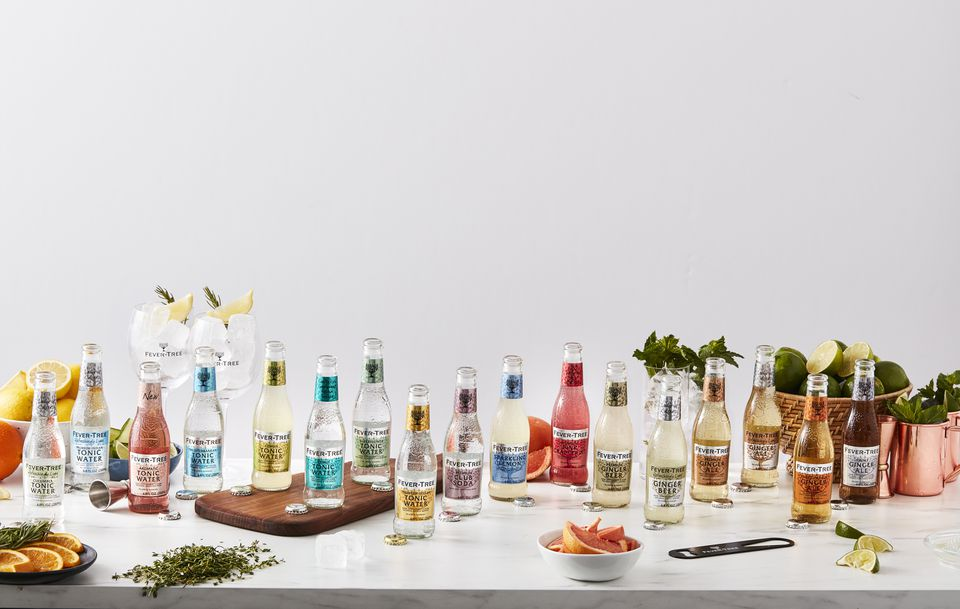 Fever-Tree Premium Mixers - Tonic Water and Sodas