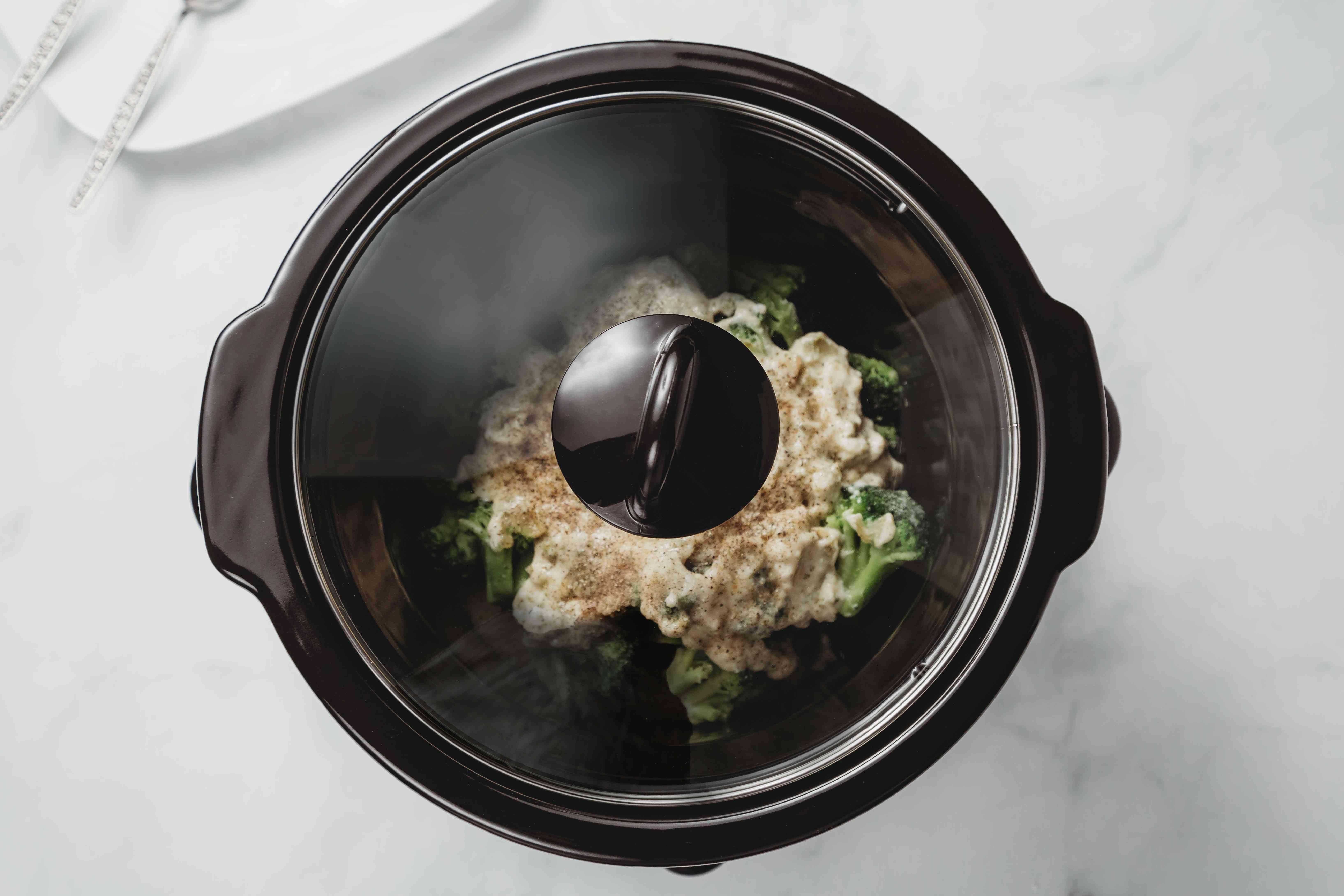 ingredients in a crock pot