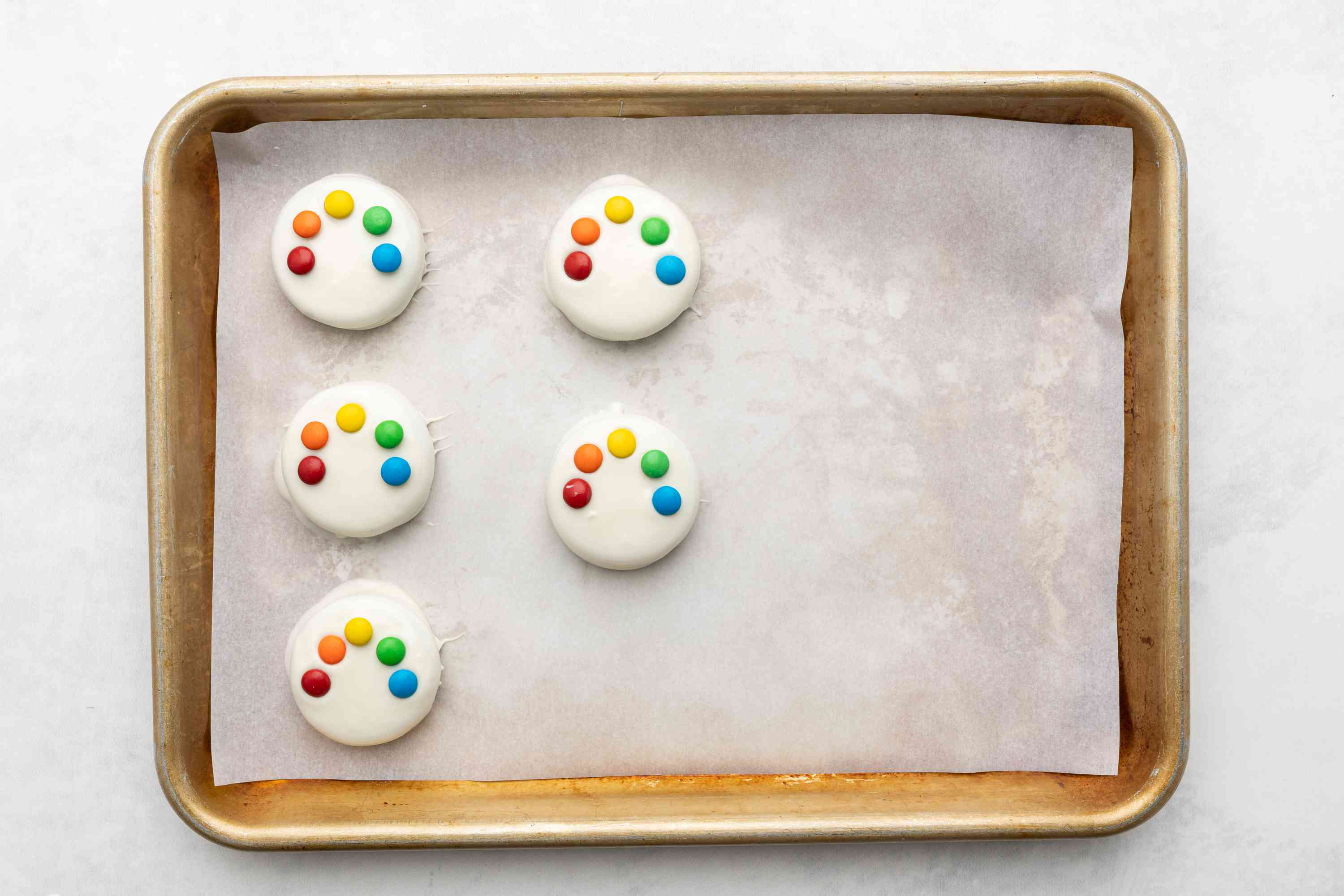 cookies with m&m's on top