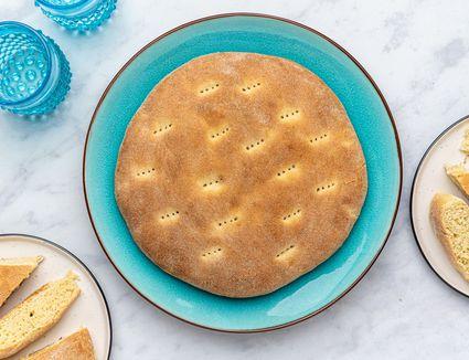 Moroccan Semolina Bread - Khobz dyal Smida